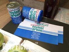 Soylent Green - Pair of Prop Promo Soylent Green Food Can Paper Labels