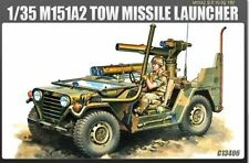 Academy 13406 M151A2 Tow Missile Launcher 1/35 plastique Scale Model Kit