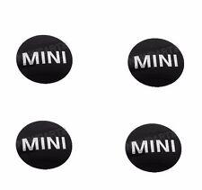 "Mini Cooper R50 R52 R53 R55 R56 R57 Set of 4 Wheel Center Cap Emblems ""Mini"" NEW"