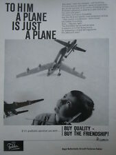 7/1963 PUB FOKKER AIRCRAFT HOLLAND F27 FRIENDSHIP AIR TRANSPORT JOUET TOY AD