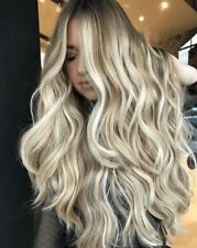 7A Brazilian 100% Human Hair Wigs Balayage Remy Hair Lace Front  Full Lace Wigs