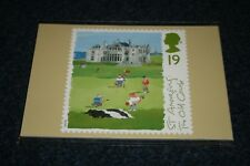 Royal Mail Stamp Cards PHQ 163 'Golf' 1994. Mint in Cellophane Packet