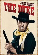John Wayne The Duke Metal Sign 290mm x 200mm   (nm)