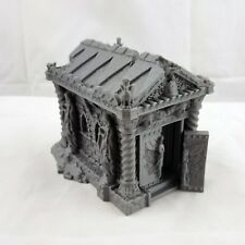 Ruined Cemetery Mausoleum | Tomb | 28mm Scale | Dungeons and Dragons | Warhammer
