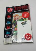 1996 BATMAN & ROBIN BACK TO SCHOOL SET SEALED SUPER RARE - VERRY GOOD CONDITION