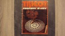 Vieux magazine : Tricot Sélection - Crochet d'Art n°28 - 09/1977