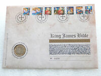 2011 Royal Mint King James Bible 400th Anniv £2 Two Pound Coin First Day Cover