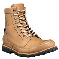 TIMBERLAND MEN'S NATURE NEEDS HEROES EARTHKEEPERS BOOTS NATURAL LEATHER Size 9