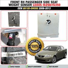 2006-2013 LEXUS IS250 IS350 FRONT RH PASSENGER SIDE SEAT WEIGHT SENSOR OEM