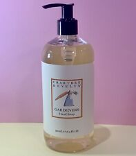 Crabtree & Evelyn ⭐️GARDENERS Hand Soap 16.9 oz FAST SHIPPING.