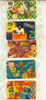 1995 CARTOON NETWORK EAT N RUN,EeeK a Mouse,Tooth n Nail,Eye Spies,spikeghost