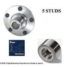 Front Wheel Hub & (OEM) KOYO Bearing Kit Fit 2004-2008 TOYOTA SOLARA (3.3L eng)