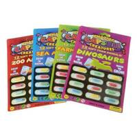 5 Sheets Magic Grow Capsules Baby Cognition Toys Educational Toy Larger In Water