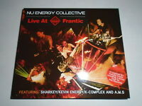 Nu Energy Collective LIVE AT FRANTIC Cd Hard House Trance NRG Hardcore Rave RARE