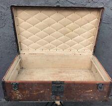 1900s Louis Vuitton Steamer Trunk Old Original Estate London Antique Rare LV
