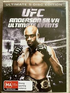 UFC-DVD: Ultimate Events - Anderson Silva (ultimate 5 disc edition)