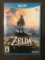 The Legend of Zelda: Breath of the Wild (Nintendo Wii U) ✅CIB/Complete ✅Tested