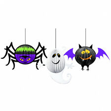 3 Suspendu Halloween Partie 3D Décorations horrible groupe cintres FREE P&P