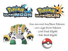 Pokemon Ultra Sun and Moon 2018 Legends Japanese Event Pokemon Regigigas