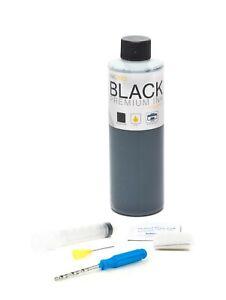 InkPro Premium Black Ink Refill Kit for Canon PG-243/245/245XL 8oz/236mL
