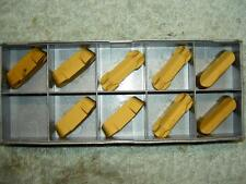x9 ISCAR GROOVING CARBIDE INSERTS GIF 10.00E-5.00 IC9015 NEW