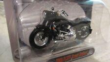 NEW MAISTO DIE-CAST HARLEY-DAVIDSON MOTORCYCLE 2000 FLSTF STREET STALKER W/ BONU