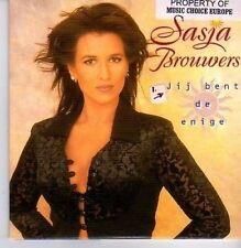 (CW939) Sasja Brouwers, Jij Bent de Enige - 1998 CD
