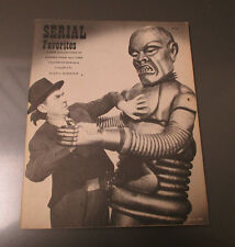 1971 SERIAL FAVORITES Screen Facts FVF 52 pgs Batman Boris Karloff Robot Cover