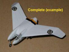 """1/144 Luft46 Fighter: Heinkel He P.1078B """"JG5 Winter"""" [Germany] : POPY"""