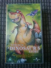 Steven Spielberg - A Dinosaurs Story - Childrens U Rated Vhs Video
