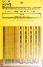 Gold Medal Models N #16059 Industrial Walkways w/Handrails -- Scale 192' 58.5m