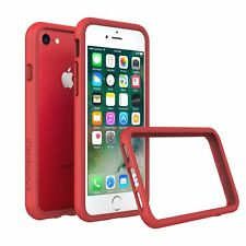 iPhone 8/7 Case RhinoShield Bumper [11 Ft Drop Tested] ShockProof Tech-Red