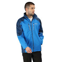 Regatta Mens Calderdale III Jacket Top- Blue Sports Outdoors Full Zip Hooded