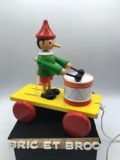 Jouet A Trainer En Bois Pinocchio.Vintage.Vilac ?