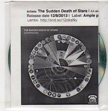 (ER505) The Sudden Death of Stars, Supernovae / Goodbye - 2013 DJ CD