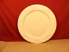 "Dansk China Origami Talc Pattern Round Platter Chop Plate 13 1/8"""