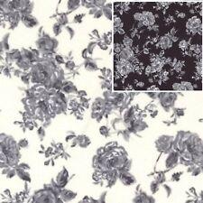 Cotton Poplin Fabric - Material - Floral - 231