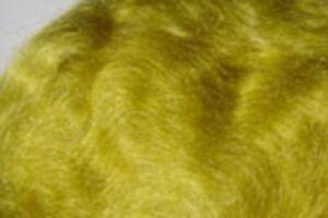 2x1g Poil MOHAIR dubbing OLIVE DORE montage fliegen fly tying golden