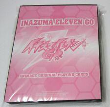 Inazuma Eleven go playing cards deck promo Tenma Kyousuke Takuto Kirino anime