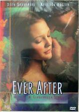 Ever After DVD 1998 Ein Cinderella Story Familie Fantasy Film W / Drew Barrymore