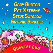 """Gary burton """"quartet Live!"""" CD nuevo"""