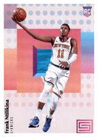 2017-18 Status Frank Ntilikina Knicks #130 NBA Rookie RC PWE