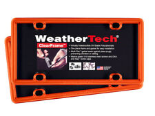 WeatherTech ClearFrame License Plate Frame- Durable Frame - 2 Pack - 17 Colors!