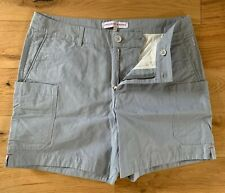 """Orlebar Brown Mens Cotton Cargo Utility Day Shorts 32""""W Grey In Colour New"""