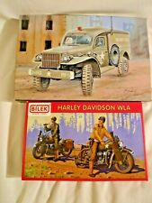 1/35 Bilek US Dodge WC 54 MP Police Paddy Wagon w/PUR Prts #888 & Harleys & 2 MP