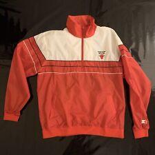 Starter chaqueta chicago bulls size XL nba cálido up 🏀 🏀 🏀 Windbreaker bulls Jacket