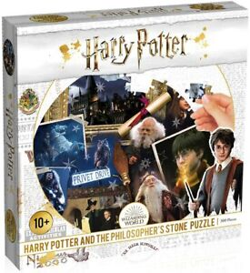 Harry Potter ~ The Philosopher's Stone ~ 500 Piece Round Jigsaw Puzzle