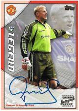 2003 TOPPS PREMIER GOLD Peter Schmeichel Man Utd Legend Autograph Auto Card Rare