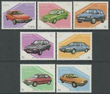 LAOS N°784/790** voitures, automobiles 1987, cars Sc#797-803 MNH