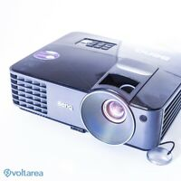 BenQ MX520 DLP Projector 3000 ANSI USED with remote MINOR FOCUS ISSUE
